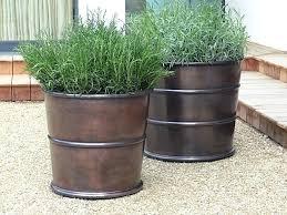 Full Image for Garden Pots Containers Ideas 10 Easy Pieces Bronze Garden  Planters Garden Pots And ...