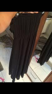 Kleiderkorb.de :: Schwarzes, edles Kleid vorne kurz hinten lang