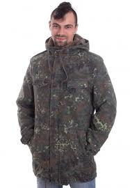Brandit Bw Parka Flecktarn Jacket