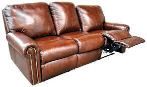 flexsteel leather couch sofa flexsteel leather reclining sofa s