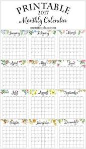 yearly calendar 2017 template 23 free 2017 calendar printables seventeen free printable and