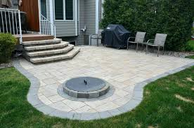 beautiful how to build a fire pit patio with pavers patio ideas building a fire pit