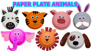 How to create <b>Cute</b> Animals using <b>Paper</b> Plates - Craft Videos for ...