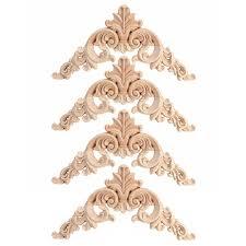 Aliexpress.com : Buy <b>HOT SALE 4pcs Rubber</b> Wood Oak Carved ...
