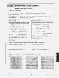 study guide equations geometry