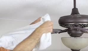 use a pillowcase to clean a ceiling fan you can safely reach