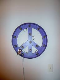 Peace Sign Bedroom Decor Sassy Reviews And Giveaways Metal And Light Signs Review