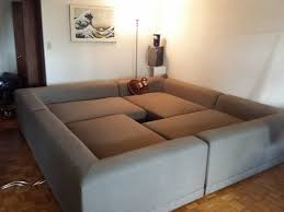 ... Crafty Design Ideas Square Sectional Sofa Creative Couch Pit Living  Room Furniture ...