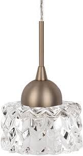 kuzco pd56404 vb malt modern vintage brass led mini pendant lighting loading zoom