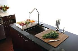 stupendous kohler kitchen sink with cutting board