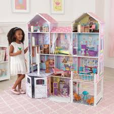 wooden barbie dollhouse furniture. KidKraft My Dreamy Toy Dollhouse With Lights And Sounds - 65823 | Hayneedle Wooden Barbie Furniture E