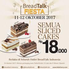 Lets Celebrate Breadtalk Fiesta Mulai Breadtalk Indonesia