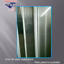 PS Safety plexiglass patterned sheets/boards/panels for shower door