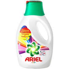 Жидкое <b>средство для</b> стирки Ariel для цветного для любых видов ...