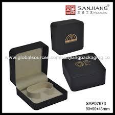 china promotional custom logo printed cardboard jewelry box