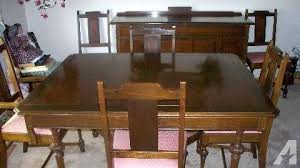 it is made by unique furniture company ing a beautiful dinning table with 6 chairatching china buffet hutch classifieds it is made