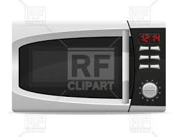 microwave clipart. microwave oven with electronically controlled, 55342, download royalty-free vector image clipart