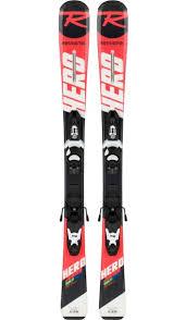 Rossignol Hero Jr 100 130 Kid X Skis Alpine 2018 2019