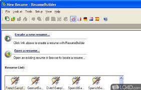 Sarmsoft Resume Builder Resume Builder Download