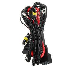 online buy whole relay wiring harness from relay wiring h1 h3 h7 car light relay wiring harness xenon conversion light controller socket plugs kit fuse