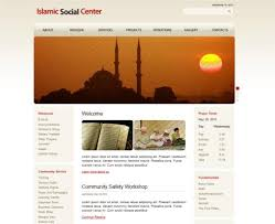 Small Picture Islamic Website Design Templates