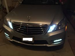 W212 Parking Light Replacement Finally Parking Lights Match The Led Mbworld Org Forums
