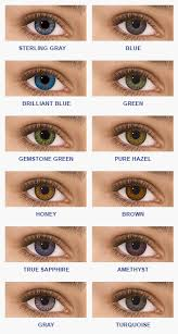 Freshlook Lenses Colors Chart Freshlook Colorblends