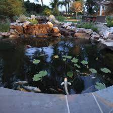 Pond Design Waterfall Koi Pond Design In Vienna Virginia