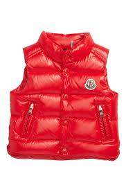 Moncler Bernard Water Resistant Down Puffer Vest (Baby Boys   Toddler Boys)