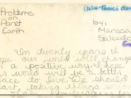 student essays found in time capsule speak out on racism student essays found in 1990 time capsule speak out on racism homelessness