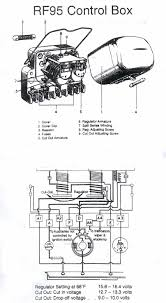 rf95 6 6 volt regulator and cut out type rf95 regulator cut rf 95 wiring diagram