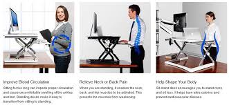 health benefits of tanding desk
