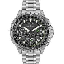 "citizen watches men s ladies eco drive watch shop comâ""¢ mens citizen promaster navihawk gps alarm chronograph radio controlled eco drive watch cc9030 51e"
