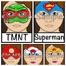superman clipart paint 15