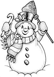 Small Picture Para colorear MUECOS DE NIEVE SNOWMENS Pinterest Snowman
