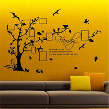 family wall art sticker with spaces for your favourite pictures on family tree wall art stickers uk with family tree wall art stickers uk pinterest family wall art