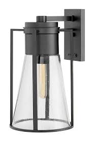 Hinkley Indoor Lighting Hinkley 2825bk Refinery Outdoor Wall Sconce 1 Light 100