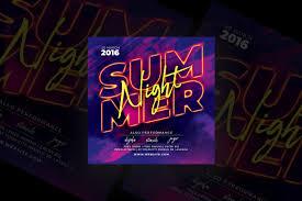 Summer Night Party Flyer Vsual
