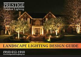 exterior lighting design guide. prestige outdoor lighting. design guide cover exterior lighting o
