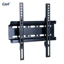 universal wall mount bracket fixed flat panel frame for inch led monitor tv instructions