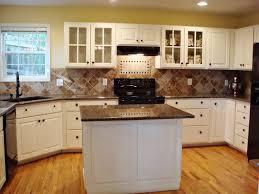 granite kitchen countertops with white cabinets. White Kitchen Cabinets With Brown Granite Countertops Fresh Photo Of Decor At Ideas A