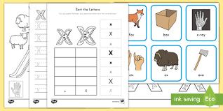 Beginning consonants, ending consonants, flash cards, games cards. X Words For Kids Phonics Activity Pack Teacher Made