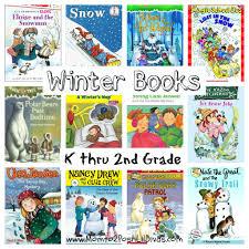 12 winter books for children in kindergarten thru 2nd grade