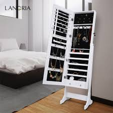 Lockable Bedroom Furniture Compare Prices On Jewelry Mirror Cabinet Online Shopping Buy Low