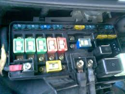 4ws light wont go off can i still drive it honda prelude forum i noticed some fuses are missing as well eg abs and few others okay so here is my fuse box alright forgot to put the red radio one tell me if its