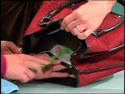 the lining of your expensive purse