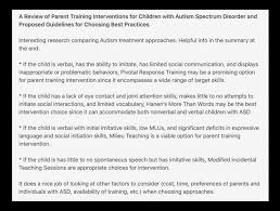 autistic disorder research paper autism spectrum disorder have a neurobiological basis