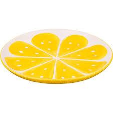 <b>Тарелка</b> (АМ) Lefard Лимон (585-081) (<b>подстановочная</b>, <b>28 см</b> ...