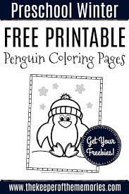Print out the file on white. Free Printable Penguin Coloring Pages