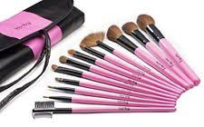 item 1 karity cosmetics studio 12 piece natural hair makeup brush set with pouch karity cosmetics studio 12 piece natural hair makeup brush set with